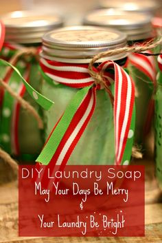 May Your Days Be Merry & Your Laundry Be Bright! (DIY GIFT IDEAS FOR LESS THAN $5)