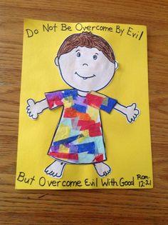Joseph Bible Craft: