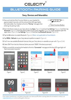 Sony Bluetooth® Pairing Guide