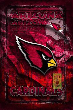 Arizona Cardinals Football Poster, Arizona Cardinals Gift, Arizona Cardinals Map Art