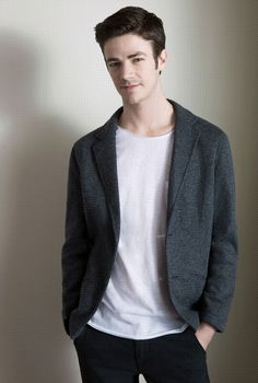 Photos From The TV Guide Magazine January 2015 Photoshoot Grant Gustin