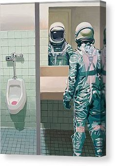 Men's Room Canvas Print by Scott Listfield. All canvas prints are professionally printed, assembled, and shipped within 3 - 4 business days and delivered ready-to-hang on your wall. Choose from multiple print sizes, border colors, and canvas materials. Christmas Bathroom Decor, Diy Bathroom Decor, Bathroom Art, Bathroom Canvas, Landscape Wallpaper, Scenery Wallpaper, Nature Wallpaper, Thing 1, Man Room