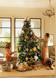 Um Natal dourado e luxuoso