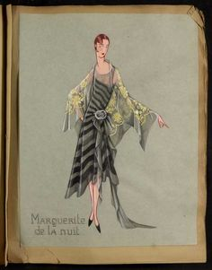 Robe Marguerite, Paris 1928, copyright Patrimoine Lanvin #JeanneLanvin #Lanvin