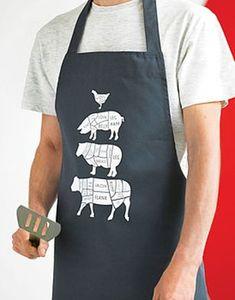 Butcher's Kitchen Apron FOR AMIE