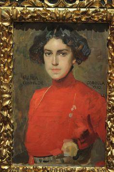 Maria Clodilde Sololla 1910, by Joaquín Sorolla y Bastida