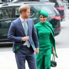 Today marks the final appearance of the Duke and Duchess of Sussex as senior members of the royal family. The post Meghan Markle Makes Final Appearance as a Senior Royal in Striking Green Dress by Emilia Wickstead appeared first on FASHION Magazine. Meghan Markle Today, Meghan Markle Style, Duchess Of Cornwall, Duchess Of Cambridge, Classic Makeup Looks, Tight Buns, Catherine Walker, Emilia Wickstead, Green Midi Dress
