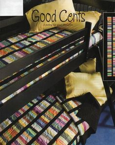 Good Cents Quilt Pattern Pieced