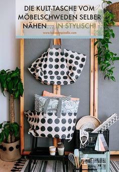 Ikea Design, Bag Patterns To Sew, Sewing Patterns Free, Textiles, Barbacoa, Kult, Ikea Hack, Knit Crochet, Basket