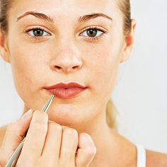 Get Luscious Lips (For Less!) - Whether your lips are too thin or too full, these makeup tips will give you a pretty pout!