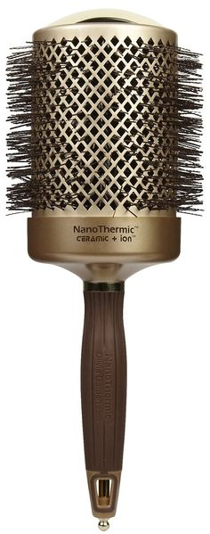 Olivia Garden NanoThermic Ceramic Ion Thermal Brush - Best Price. Good way to keep curls in the wigs and wigs