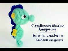 Cavalluccio Marino Amigurumi   How to crochet a Seahorse