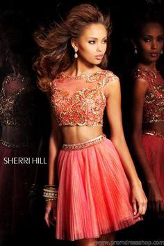 Sherri Hill Short Dress21154 at Prom Dress Shop