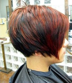 Short Hair Color Styles - most girls like to carry this hair color to look more stylish and trendy