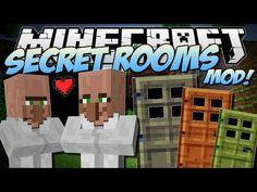 Minecraft | SECRET ROOMS MOD! (Discover Trayaurus' Secrets!) | Mod Showcase