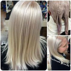 Inspiration by angie ochoa from Ogle School Hair. Beige Blonde, Icy Blonde, Perfect Blonde Hair, Hair Color Formulas, Magic Hair, Hairstyles For School, Cool Hair Color, Love Hair, Dark Hair