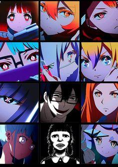 'Mahou Shoujo Site - Magical Girl Site ' Spiral Notebook by benjamintorres Chibi, Manga Anime, Anime Art, Manga Games, Magical Girl, Yandere, Shoujo, Kawaii Anime, Anime Characters