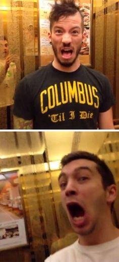 Josh: Gurl look Tyler: OH MA GAWD -gaby