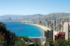 Benidorm, Spain. A place near and dear to my heart.  Many great memories.