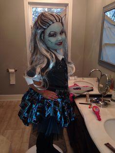 Die 31 Besten Bilder Von Monster High Frankie Stein Kostüm Selber