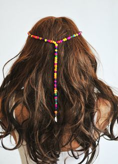 Boho Headband Beaded Hair Bands headpiece Head by selenayselenay, $22.00