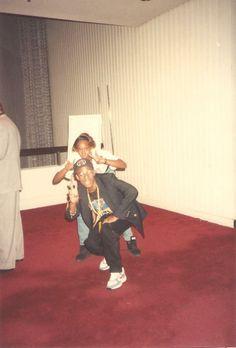 Me & Winston being silly! HAAAAAAAAAAAA! We at the Jack The Rapper Convention in ATL.