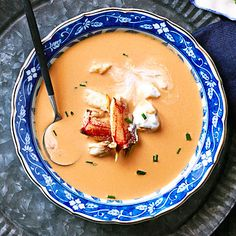 Crab Bisque | If you have shells from a cracked-crab feast, make this delicious bisque the following day.