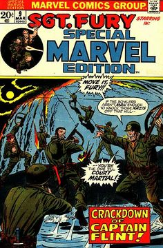 Special Marvel Edition # 9 by Dick Ayers
