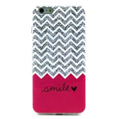 Coque iPhone 6s Plus - 6 Plus - ZigZag Smile Love