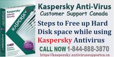 Steps to Free up Hard Disk space while using Kaspersky Antivirus Customer Support, Canada, Website, Blog, Customer Service