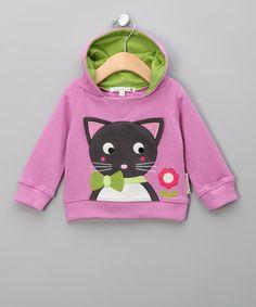 Olive & Moss | Lilac Karina the Kitten Hoodie - £16.00 - original £28.00