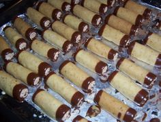 Czech Recipes, Ethnic Recipes, Desert Recipes, Hot Dog Buns, Christmas Cookies, Nutella, Sausage, Sweet Tooth, Cheesecake