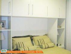 Apartamento decorado 2 dormitórios do Parque Princesa do Vale no bairro Bela Vista - Pindamonhangaba - SP - MRV Engenharia - Quarto Casal