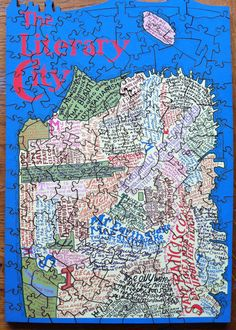 A Typographic Literary Map of San Francisco, in a Puzzle | Brain Pickings