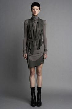 Helmut Lang Fall 2011 Ready-to-Wear Fashion Show - Saskia de Brauw