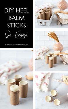 I saw results after the first application of this DIY cracked heel balm stick! Healthy Beauty, Clean Beauty, Natural Beauty, Beauty Tips, Beauty Hacks, Cracked Heel Balm, Homemade Body Butter, Diy Beauty Makeup, Diy Lotion