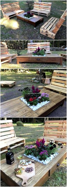 Salvaging wood pallets can serve you in various wonderful ways. Wood pallet sofa set is one of thought provoking project. Why to buy expensive furniture items if there are budget friendly ways for your needs with the help of reused wood pallets. #pallets #woodpallet #palletfurniture #palletproject #palletideas #recycle #recycledpallet #reclaimed #repurposed #reused #restore #upcycle #diy #palletart #pallet #recycling #upcycling #refurnish #recycled #woodwork #woodworking