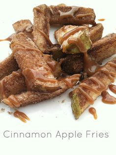 Cinnamon apple fries