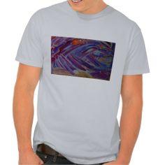 abstract five mens tee shirt