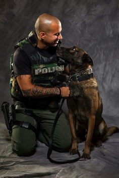MANS BEST FRIEND ❤K-9