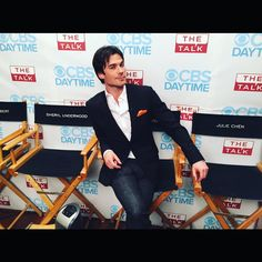 Ian Somerhalder - 12/11/15 - Had so much fun with you ladies on #thetalk ! THANK YOU for the love, the laughs and the support. Truly, what a powerful, fun and loving group of ladies. I'm grateful. Thank you everyone for watching! Love, Ian https://www.instagram.com/p/9_tqnxqJ6B/ - Twitter / Instagram Pictures