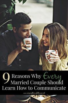 These nine reasons are some of the most important reasons why you should learn how to communicate as a married couple. In fact, learning how to communicate with your spouse and family should be a goal you pursue every single day. Start pursuing this goal