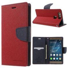 Köp Mercury Fancy Diary Case Huawei P9 röd online: http://www.phonelife.se/mercury-fancy-diary-case-huawei-p9-rod
