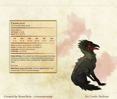 Homebrewing monsters DnD Homebrew Witcher Monsters by Regerem Witcher Monsters, Dnd Monsters, Dungeons And Dragons Homebrew, D&d Dungeons And Dragons, Magical Creatures, Fantasy Creatures, Dnd Stats, Dnd Dragons, Dnd 5e Homebrew