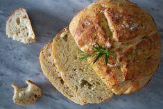 No-knead Rosemary and Sea Salt Bread