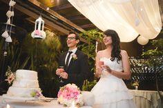 Vestido de novia corte cintura natural