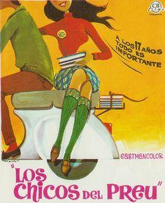 """""""Los Chicos del Preu,"""" Spanish movie poster, 1967"""