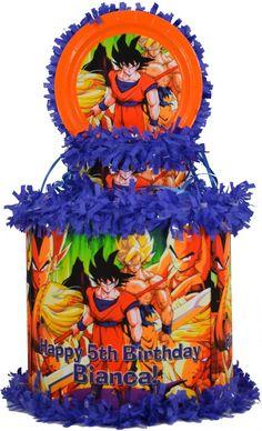 World of Pinatas - Dragon Ball Z Kai Personalized Pinata, $39.99 (http://www.worldofpinatas.com/dragon-ball-z-kai-personalized-pinata/)