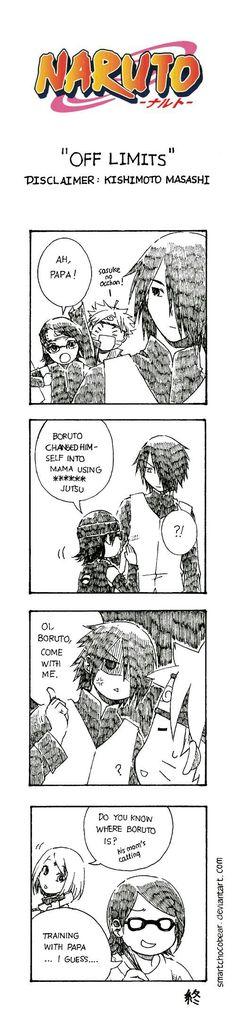 Sasuke comic