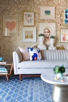 Oh Joy Living Room